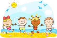 stock-illustration-16627093-summer-holiday-children-holding-hands-cartoon-illustration